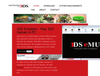 3dsemulatordownload.net screenshot