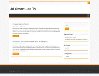 3dsmartledtv.com screenshot