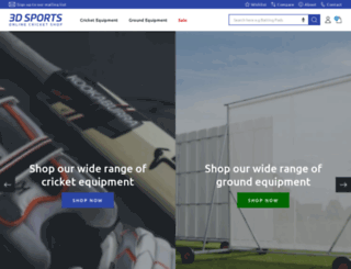 3dsports.co.uk screenshot