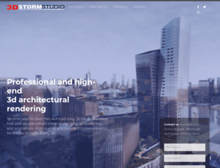 3dstormstudio.com screenshot