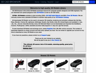 3dworldclub.com screenshot
