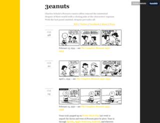 3eanuts.com screenshot