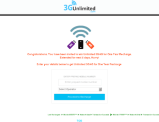 3g-unlimited.com screenshot