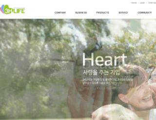 3hlife.co.kr screenshot