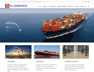 3ilogistics.com screenshot