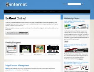 3internet.co.uk screenshot