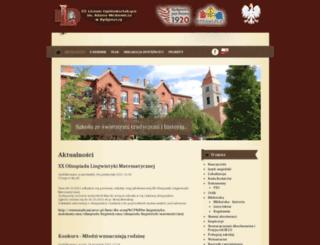 3lo.bydgoszcz.pl screenshot