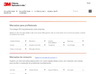 3m.com.br screenshot