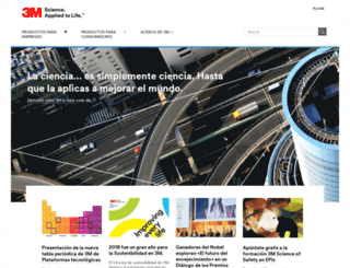 3m.com.es screenshot