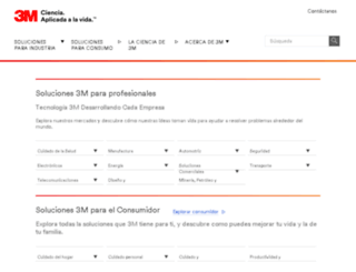 3m.com.mx screenshot