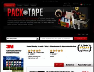 3m.pack-n-tape.com screenshot