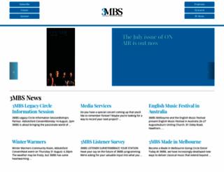 3mbs.org.au screenshot