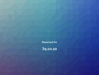3q.co.za screenshot