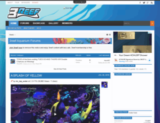 3reef.com screenshot
