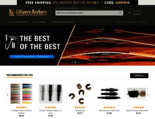 3riversarchery.mivamerchant.net screenshot