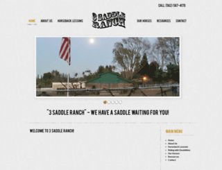 3saddleranch.com screenshot