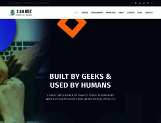 3shadz.com screenshot