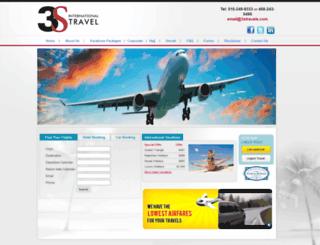3stravels.com screenshot
