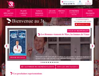 3tcafetheatre.com screenshot