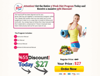3weekdietdeal.blogspot.com screenshot