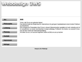 3ws.de screenshot