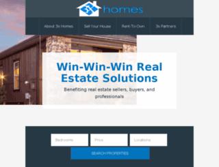 3xhomes.com screenshot