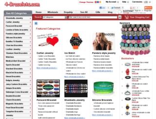 4-bracelets.com screenshot