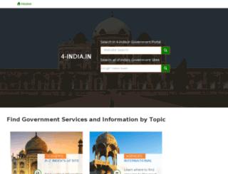 4-india.in screenshot