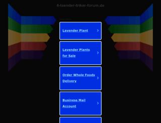 4-laender-triker-forum.de screenshot