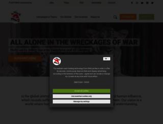 4-pfoten.org screenshot