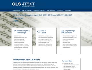 4-text.de screenshot
