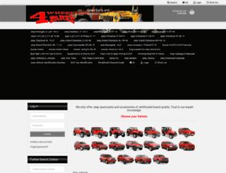 4-wheel-parts.de screenshot