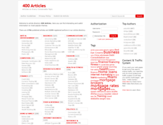 400articles.com screenshot