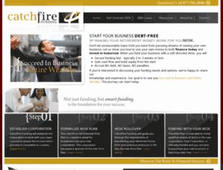 401kbusinessfundingexperts.com screenshot