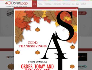 40dollarlogo.com screenshot