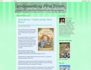 40somethingfirsttimer.blogspot.com screenshot