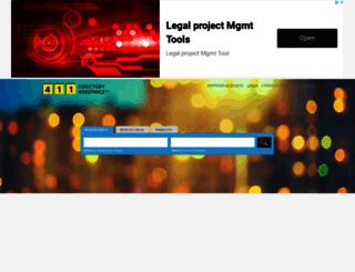 411directoryassistance.ca screenshot