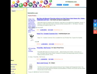 411vitamins.com screenshot