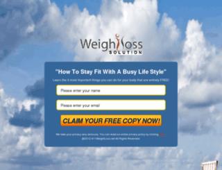 411weightloss.net screenshot