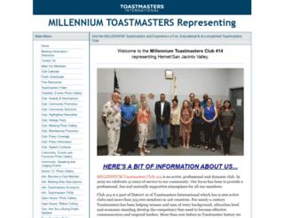 414.toastmastersclubs.org screenshot
