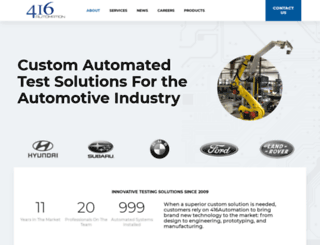 416automation.com screenshot