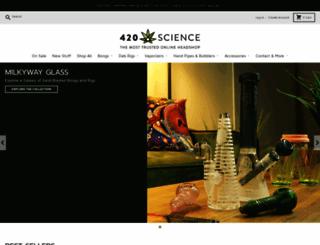 420science.com screenshot
