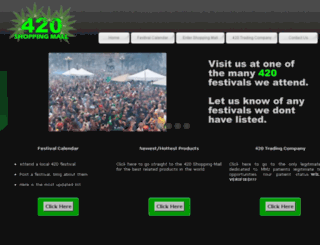 420shoppingmall.com screenshot