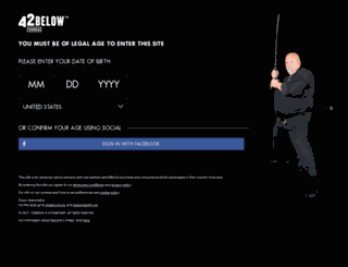 42below.it screenshot