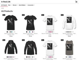 442780.spreadshirt.com screenshot