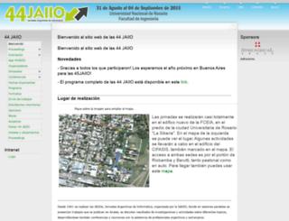 44jaiio.sadio.org.ar screenshot
