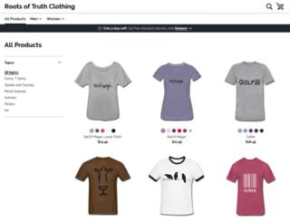 468530.spreadshirt.com screenshot