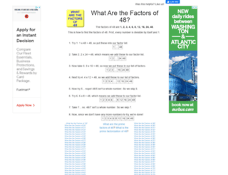 48.what-are-the-factors.com screenshot
