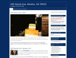 495danielavenue.com screenshot
