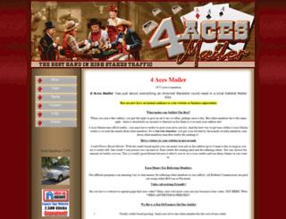 4acesmailer.com screenshot